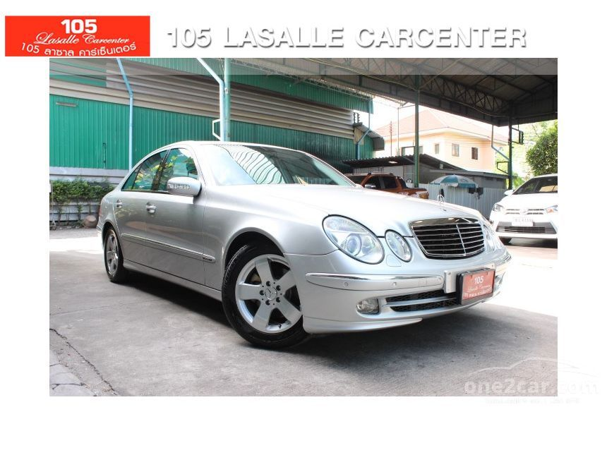 2006 Mercedes-Benz E240 Avantgarde Sedan