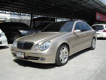 2003 Mercedes-Benz E240 W211 (ปี 03-09) Avantgarde 2.6 AT Sedan