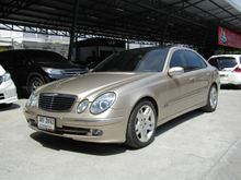 2003 Mercedes-Benz E240 W211 (ปี 03-09) Avantgarde 2.6 AT Sedan