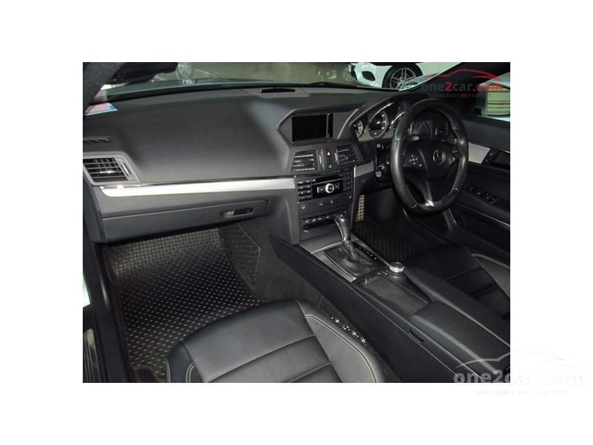 2012 Mercedes-Benz E250 AMG  Dynamic Coupe