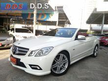 2013 Mercedes-Benz E250 CGI AMG W207 (ปี 10-16) Avantgarde 1.8 AT Convertible