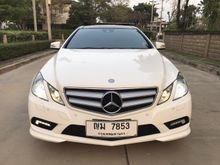 2011 Mercedes-Benz E250 BlueEFFICIENCY AMG W207 (ปี 10-16) Avantgarde 1.8 AT Coupe