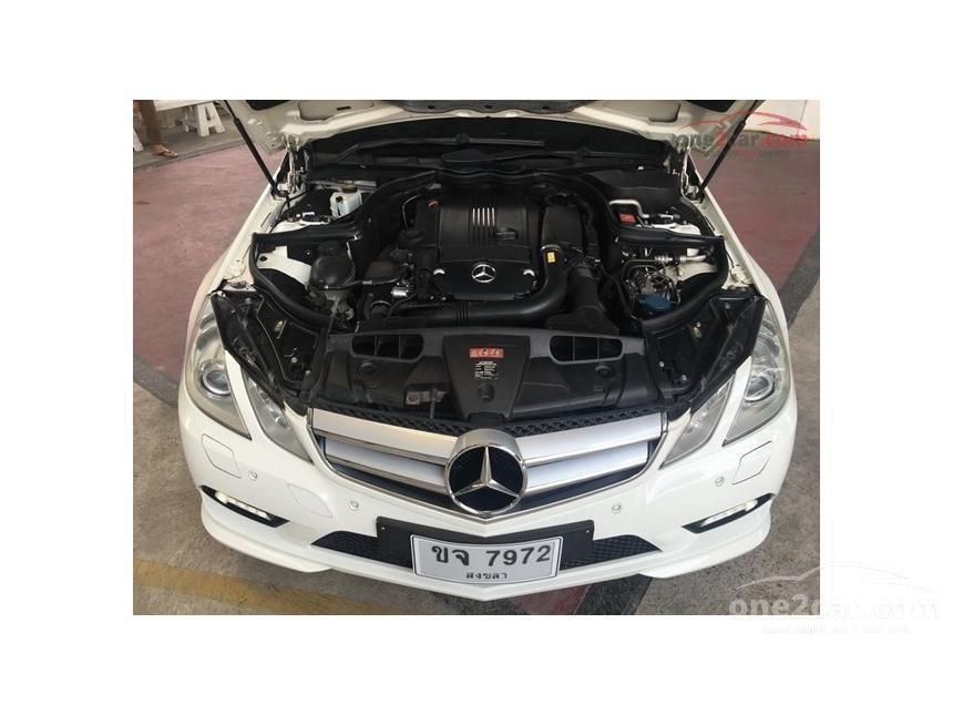 2010 Mercedes-Benz E250 AMG Avantgarde Coupe