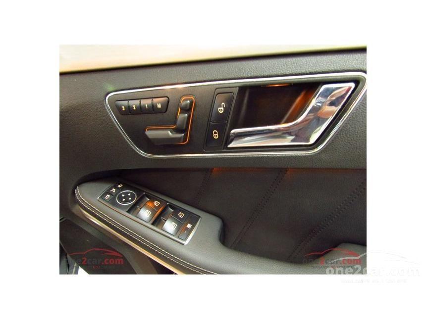 2011 Mercedes-Benz E250 CDI Elegance Sedan