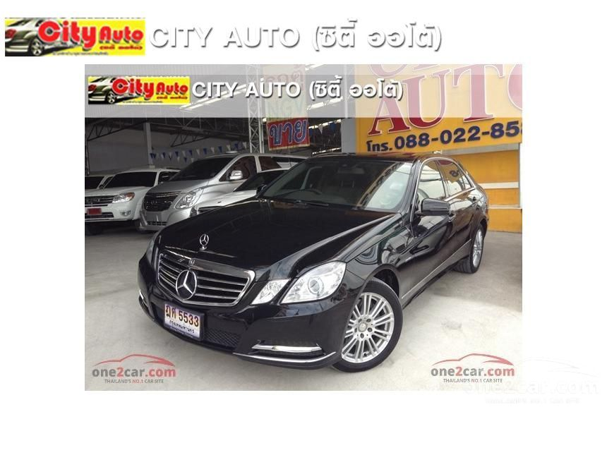 2012 Mercedes-Benz E250 CDI Elegance Sedan