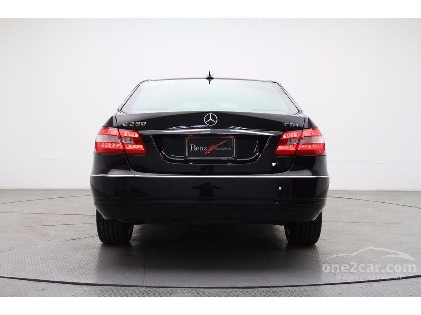 2010 Mercedes-Benz E250 CDI Elegance Sedan