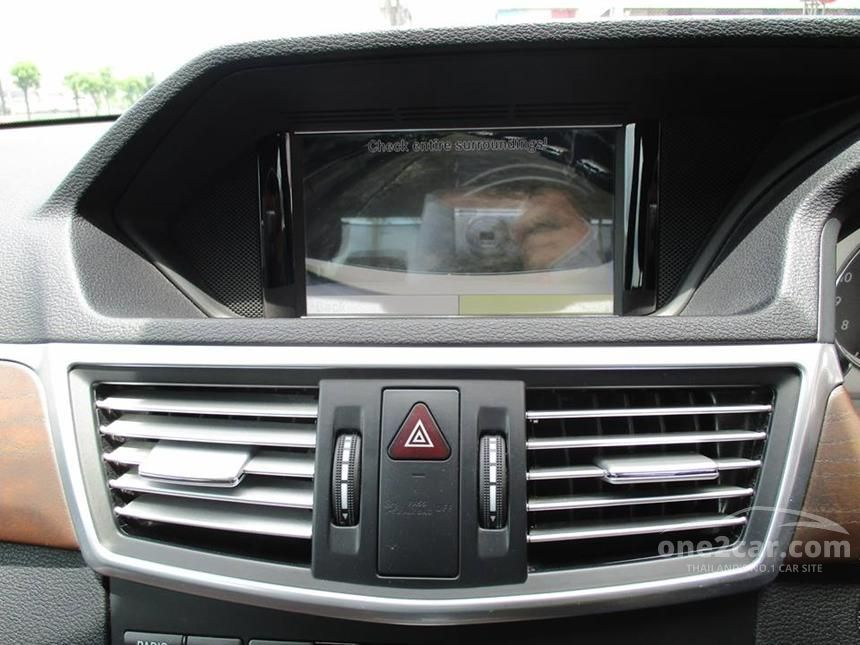 2012 Mercedes-Benz E250 CDI Elegance Sedan