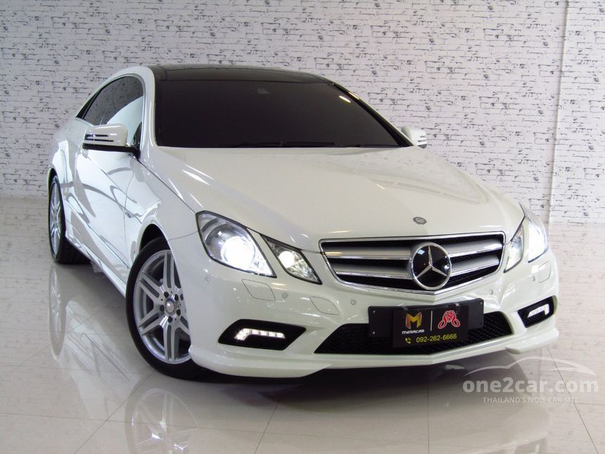 2012 Mercedes-Benz E250 CDI Sport Coupe