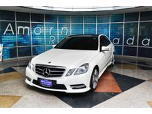 2012 Mercedes-Benz E250 CGI BlueEFFICIENCY W212 (ปี 10-16) Avantgarde 1.8 AT Sedan
