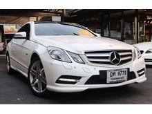 2012 Mercedes-Benz E250 CGI BlueEFFICIENCY AMG W207 (ปี 10-16) Avantgarde 1.8 AT Convertible
