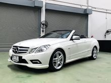 2012 Mercedes-Benz E250 CGI BlueEFFICIENCY AMG W207 (ปี 10-16) Avantgarde 1.8 AT Convertible