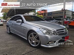 2011 Mercedes-Benz E250 CGI BlueEFFICIENCY AMG 1.8 W207 (ปี 10-16) Avantgarde Sports Coupe