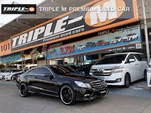 2011 Mercedes-Benz E250 CGI BlueEFFICIENCY AMG W207 (ปี 10-16) 1.8 AT Convertible