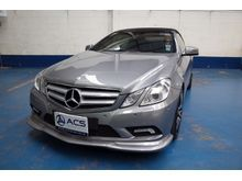 2010 Mercedes-Benz E250 CGI BlueEFFICIENCY W207 (ปี 10-16) Avantgarde 1.8 AT Cabriolet
