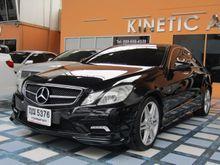 2011 Mercedes-Benz E250 CGI BlueEFFICIENCY W207 (ปี 10-16) Avantgarde 1.8 AT Coupe
