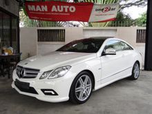 2011 Mercedes-Benz E250 CGI BlueEFFICIENCY W207 (ปี 10-16) Avantgarde 1.8 AT Coupe