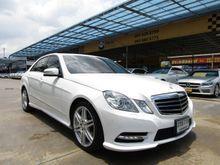 2013 Mercedes-Benz E250 CGI BlueEFFICIENCY W212 (ปี 10-16) Avantgarde 1.8 AT Sedan