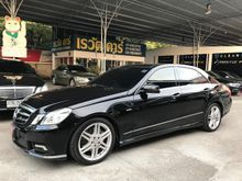 2012 Mercedes-Benz E250 CGI BlueEFFICIENCY W212 (ปี 10-16) Avantgarde 1.8 AT Sedan
