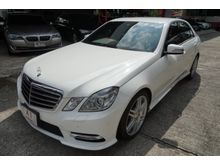 2013 Mercedes-Benz E250 CGI BlueEFFICIENCY W212 (ปี 10-16) Avantgarde 1.8 AT Sedan