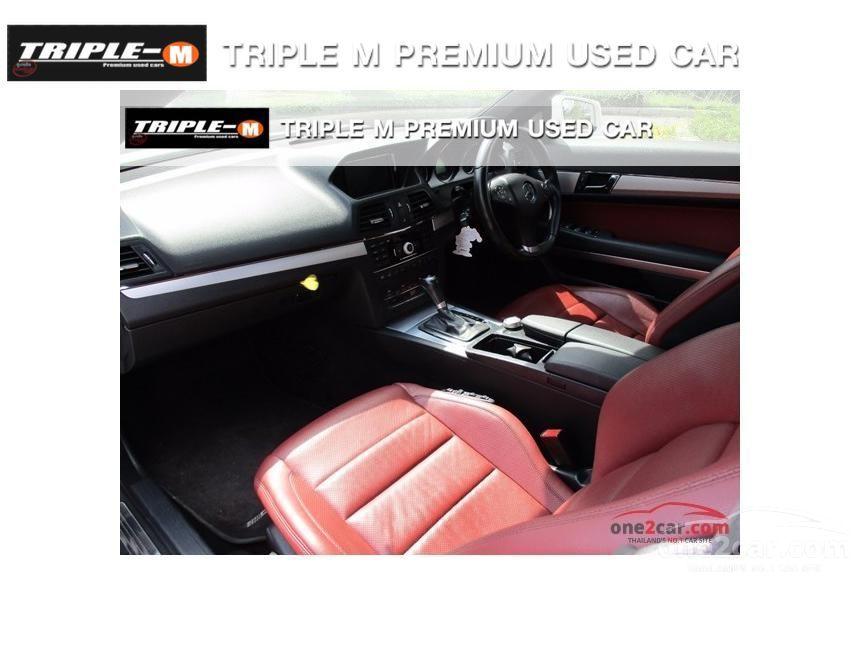 2012 Mercedes-Benz E250 CGI AMG Avantgarde Convertible