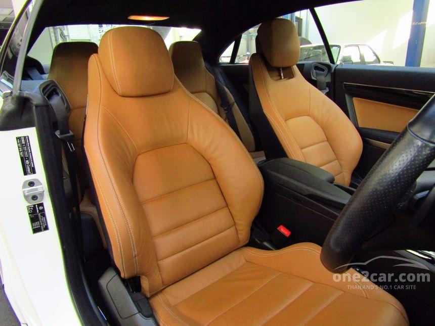 2011 Mercedes-Benz E250 CGI AMG Avantgarde Coupe