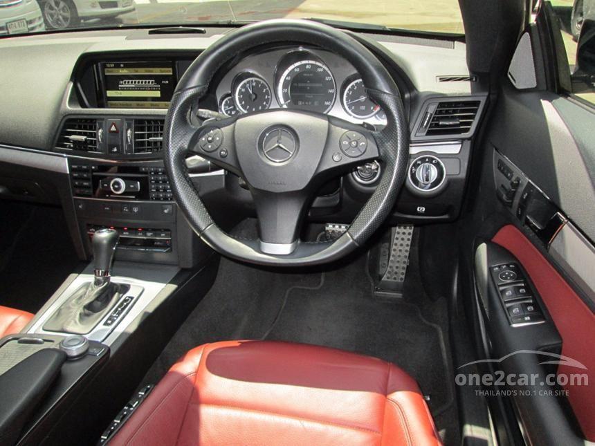 2010 Mercedes-Benz E250 CGI AMG Avantgarde Coupe