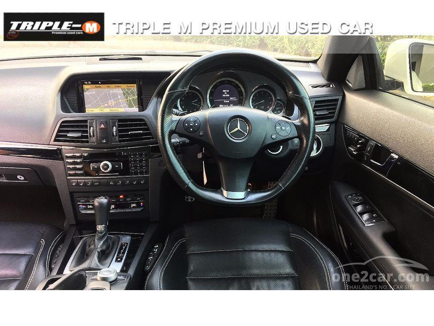 2011 Mercedes-Benz E250 CGI AMG Convertible