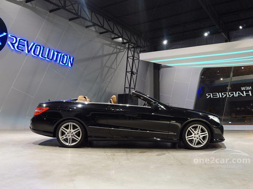 2010 Mercedes-Benz E250 CGI Avantgarde Cabriolet