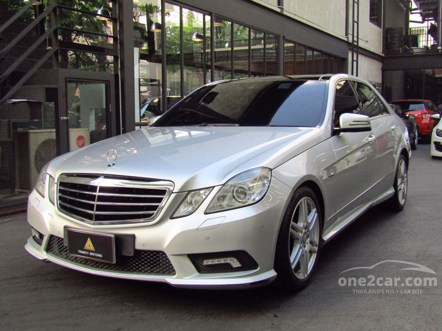 2011 Mercedes-Benz E250 CGI Avantgarde Sedan