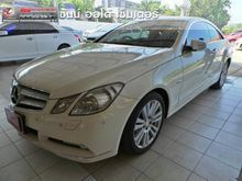 2010 Mercedes-Benz E250 CGI BlueEFFICIENCY W207 (ปี 10-16) Elegance 1.8 AT Coupe