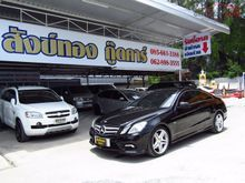 2012 Mercedes-Benz E250 CGI BlueEFFICIENCY W207 (ปี 10-16) Elegance 1.8 AT Coupe