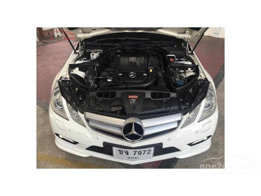 2010 Mercedes-Benz E250 CGI Elegance Coupe