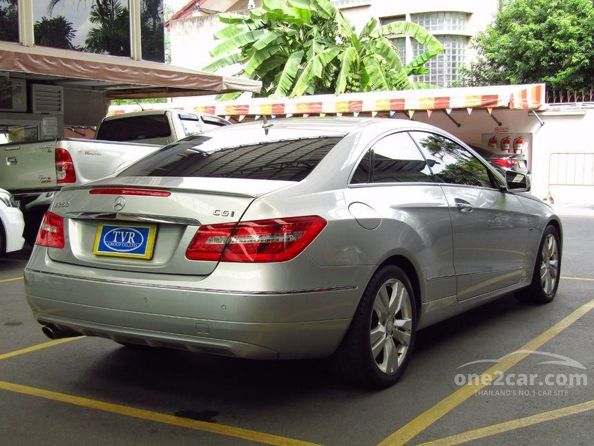 2011 Mercedes-Benz E250 CGI Elegance Coupe