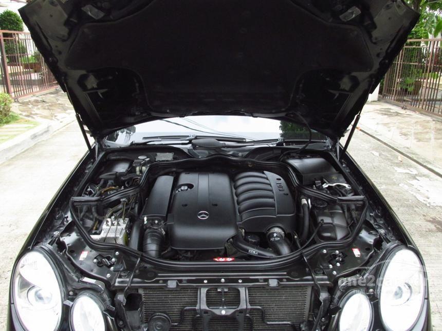 2004 Mercedes-Benz E270 CDI Avantgarde Sedan