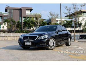 2013 Mercedes-Benz E300 2.1 W212 (ปี 10-16) Executive Blue TEC HYBRID Sedan