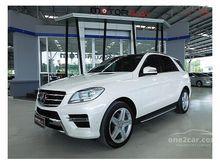 2014 Mercedes-Benz ML250 CDI BlueEFFICIENCY AMG W166 (ปี 12-16) Sports 2.1 AT SUV
