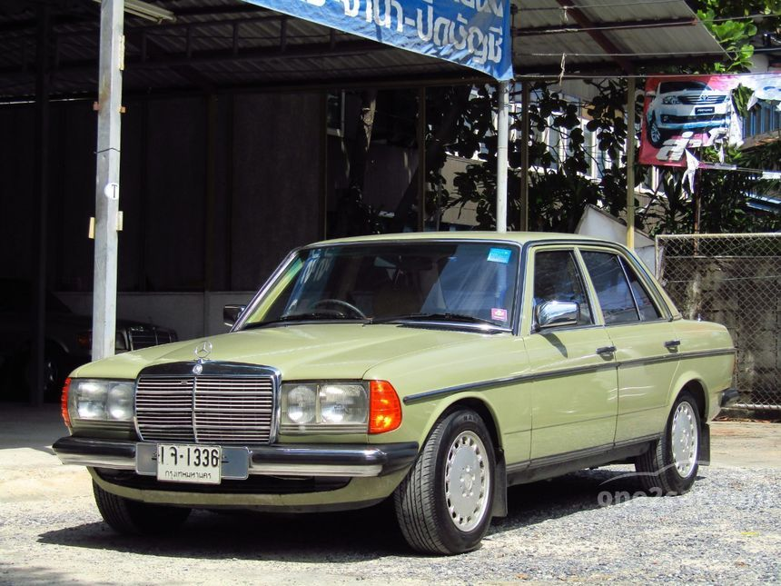 1983 Mercedes-Benz 230E Classic Sedan