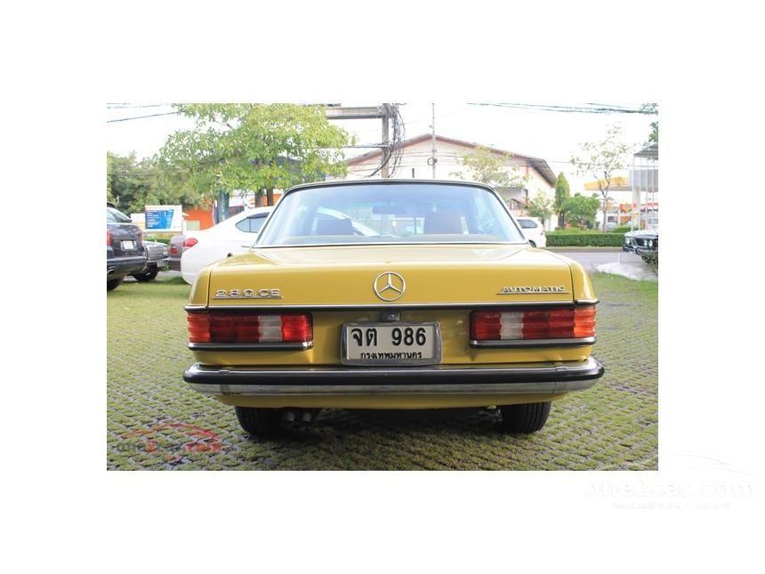 1982 Mercedes-Benz 230E Classic Sedan