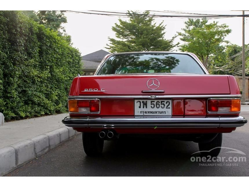1970 Mercedes-Benz 250CE W114 Coupe