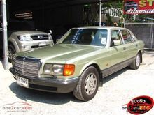 1988 Mercedes-Benz 500SEL W126 (ปี 79-91) V8 5.0 AT Sedan