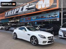 2016 Mercedes-Benz SLK200 BlueEFFICIENCY AMG R172 (ปี 11-16) CarbonLOOK 1.8 AT Convertible