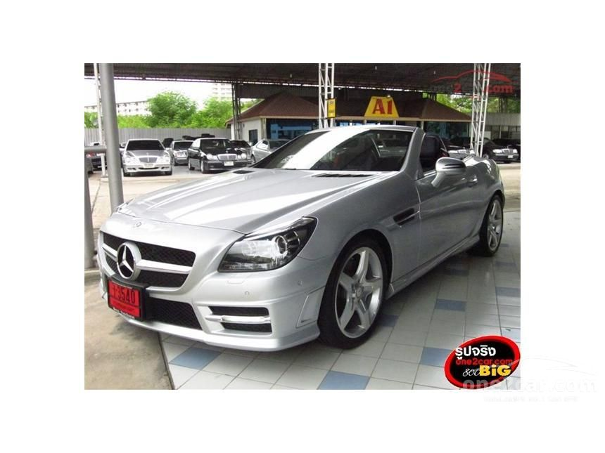 2014 Mercedes-Benz SLK200 AMG Dynamic Convertible