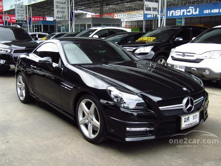 2013 Mercedes-Benz SLK200 Convertible