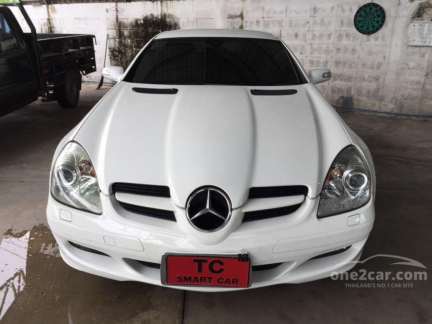 2004 Mercedes-Benz SLK200 Kompressor Convertible