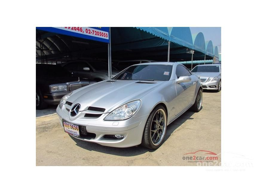 2006 Mercedes-Benz SLK200 Kompressor Convertible