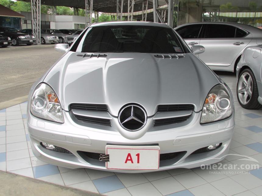 2008 Mercedes-Benz SLK200 Kompressor Convertible