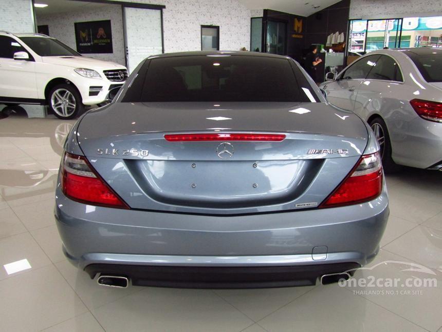 2012 Mercedes-Benz SLK250 Sport Convertible