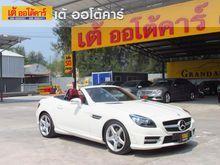 2012 Mercedes-Benz SLK250 BlueEFFICIENCY R172 (ปี 11-16) Sport 1.8 AT Convertible