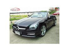 2012 Mercedes-Benz SLK250 BlueEFFICIENCY R172 (ปี 11-16) Sport 1.8 AT Convertible