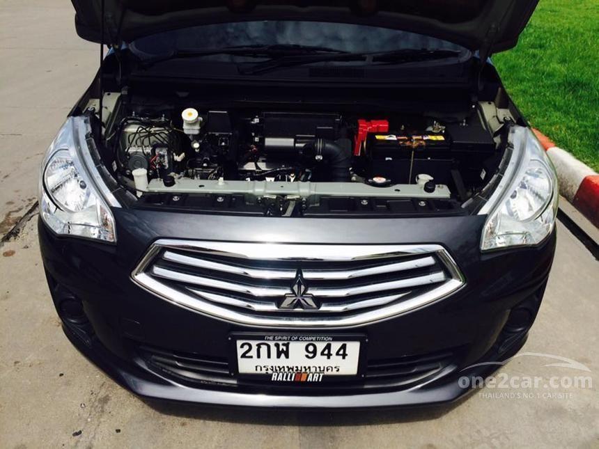 2014 Mitsubishi Attrage GLX Sedan